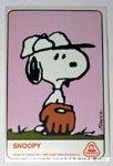 Snoopy Dolly Madison Baseball Card