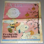 L.A. Times 'It's a Dog's Life, Charles Schulz' Article