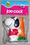 Joe Cool Leaning on Tree Squeaky Toy