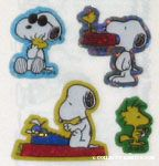 Snoopy and Woodstock Stickers