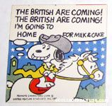 Snoopy Paul Revere