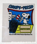 Snoopy Standing on Doghouse