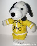 Snoopy Fireman Outfit