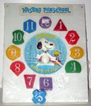 Snoopy as Magician Shape Clock