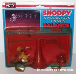 Snoopy & Woodstock on Skis Balance Toy