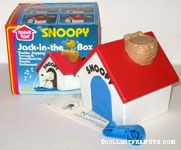 Snoopy Doghouse Jack in the Box
