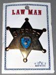 Knott's Camp Snoopy Sheriff Badge