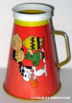Snoopy, Lucy and Charlie Brown Megaphone - Red