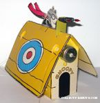 Red Baron on Snoopy Sopwith Camel Doghouse Mismatched Kit