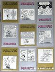 Peanuts Classics Series 2, 361-369 Trading Cards