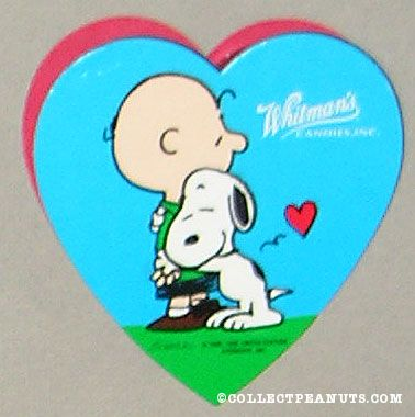Peanuts Whitmans Valentines Day Chocolate Boxes