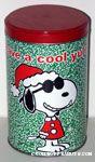 Joe Cool Santa 'Have a Cool Yule' Popcorn Tin