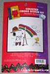 Snoopy painting Woodstock Cross-stitch Kit