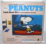 Snoopy surfing Latch Hook Kit