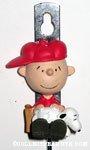Charlie Brown & Snoopy Wall Hook