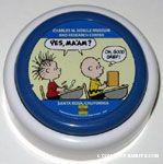 Linus & Charlie Brown in school Teacher's Voice Talk Button