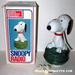 Snoopy sitting on grass Radio
