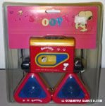 Snoopy sitting cassette player with speakers