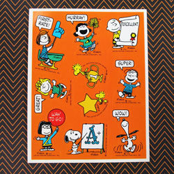 Click to shop Peanuts Stickers