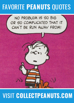 No problem is so big or so complicated that it can't be run away from!