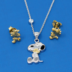 Peanuts by Persona Necklace and Earrings