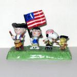 Peanuts Patriot Parade Figurine by Flambro