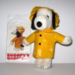 Snoopy Raincoat & Hat Outfit
