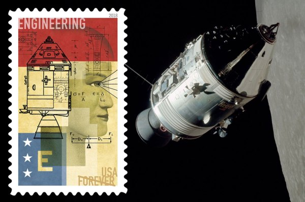 'E' is for Apollo: 'STEM Education' stamps use spacecraft ...