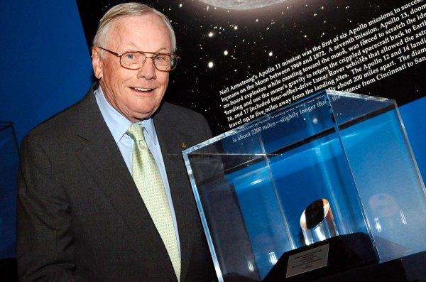 NASA gives Neil Armstrong a moon rock collectSPACE