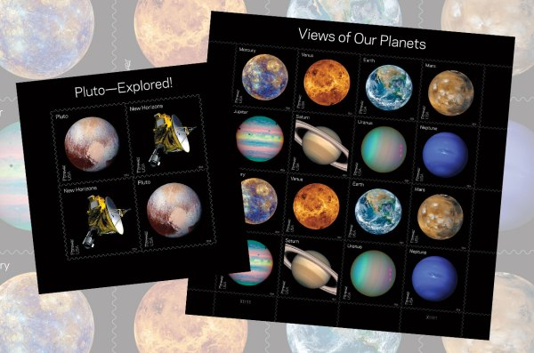 Planets postage: US Postal Service issues new solar system ...