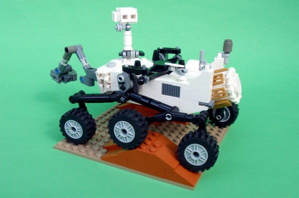 LEGO may make Mars rover Curiosity toy after 10,000 fans ...