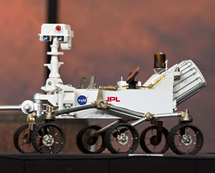 Out of Curiosity Toy stores missing NASA Mars Science