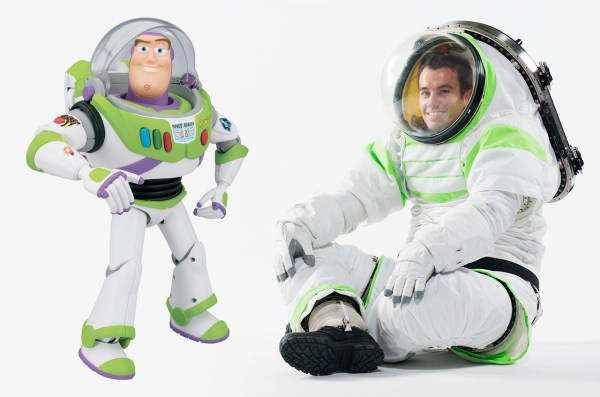 NASA's prototype spacesuit borrows from Buzz Lightyear ...