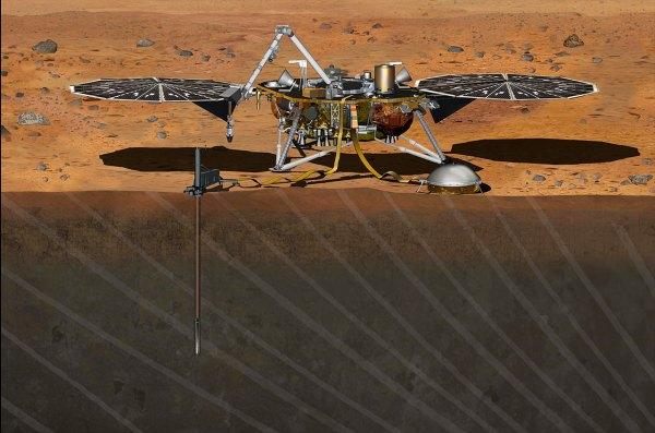 NASA's InSight Mars lander grounded on Earth, will miss ...