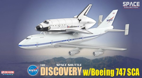 Dragons 1400 Shuttle Discovery B747 SCA collectSPACE