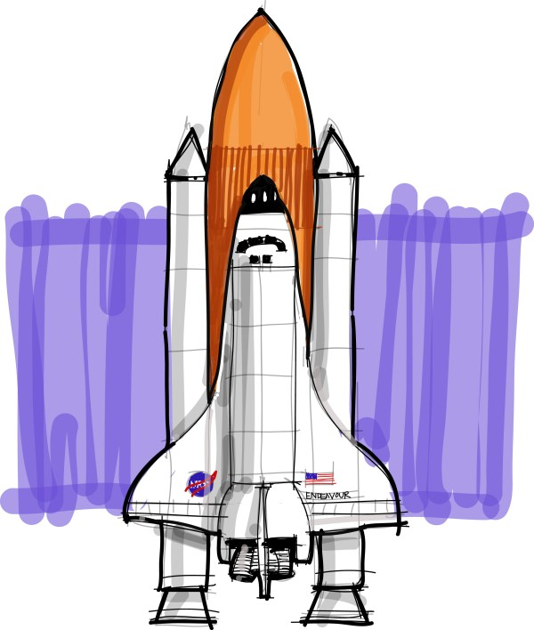 Shoo Rayner: How to draw the Space Shuttle - collectSPACE ...