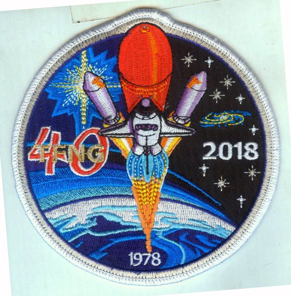 FS: 'Thirty-Five New Guys @ 40' patch - collectSPACE: Messages