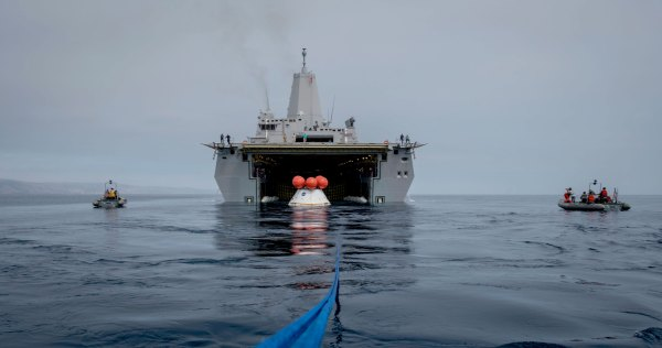 Orion EFT-1: Underway Recovery Test (Feb. 2014 ...