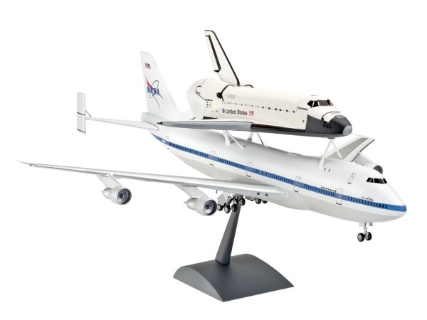 Revell 1144 Boeing 747 SCA and Space Shuttle