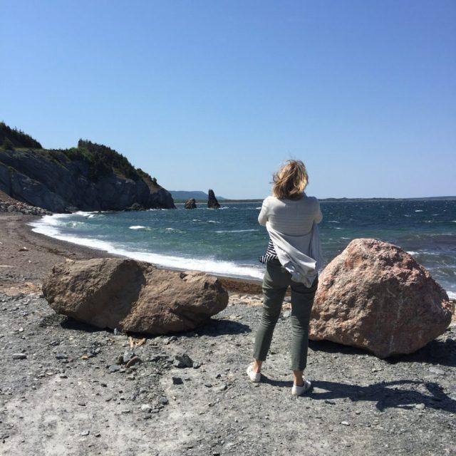 Tara on the Beach - Colleen Friesen