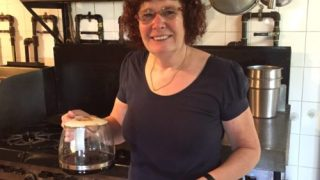 Yolande Serves Coffee - Colleen Friesen