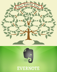 Evernote for Genealogy: Research Logs and Note Links