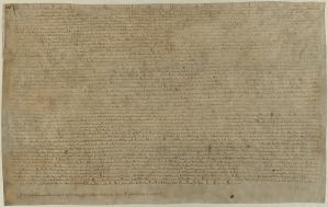 Magna Carta, 1215