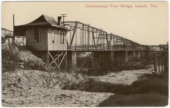 Laredo Foot Bridge