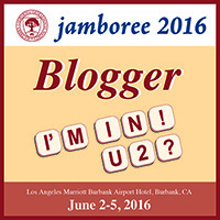 Genealogy Jamboree 2016 Blogger Badge