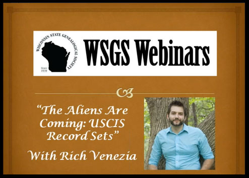 WSGS Webinar with Rich Venezia