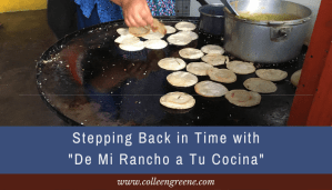"Watching the popular YouTube channel ""De Mi Rancho a Tu Cocina"" is like stepping back in time."