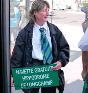 Free bus to and from Hippodrome Longchamp for the Qatar Prix de l'Arc de Triomphe