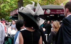 Hat at Arc de Triomphe Qatar Longchamps, Paris