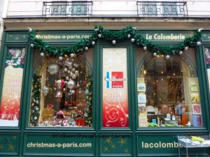La Colomberie also known as the Christmas a Paris store in Saint-Germain